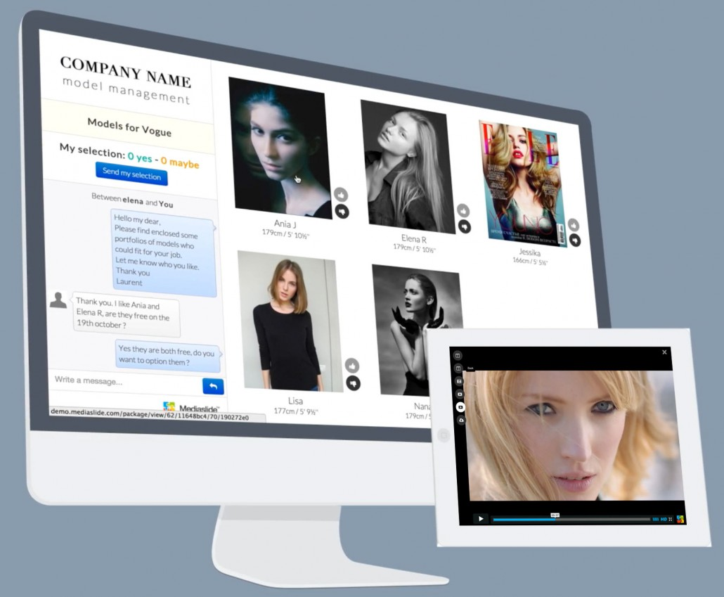 Mediaslide com - The best model agency software